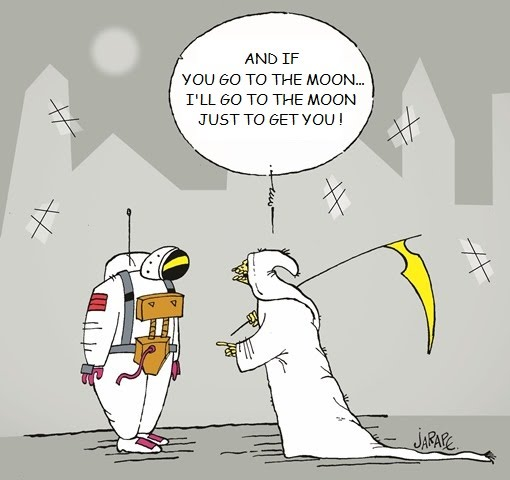 Astronaut and death