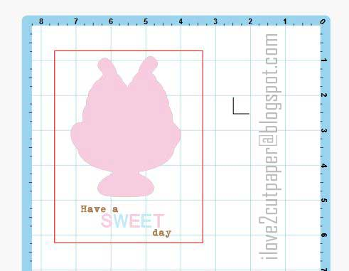 Sweet Day, Banana Split, FREE file, ilove2cutpaper, LD, Lettering Delights, Pazzles, Pazzles Inspiration, Pazzles Inspiration Vue, Inspiration Vue, Print and Cut, svg, cutting files, templates,