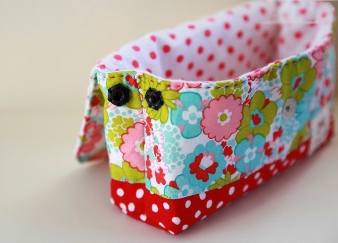 Cosmetic Bag With Pattern Diy Tutorial Ideas
