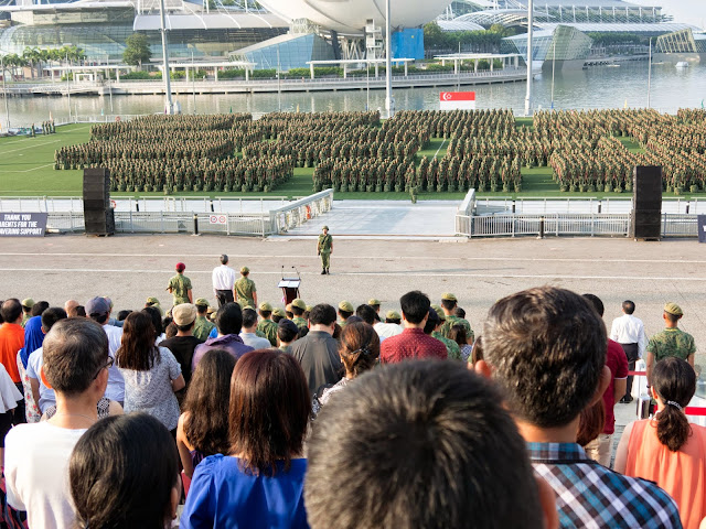 mourning for lee kuan yew