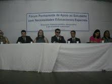 I FÓRUM DE APOIO AO ESTUDANTE COM NECESSIDADES EDUCACIONAIS ESPECIAIS - 01/3/2011