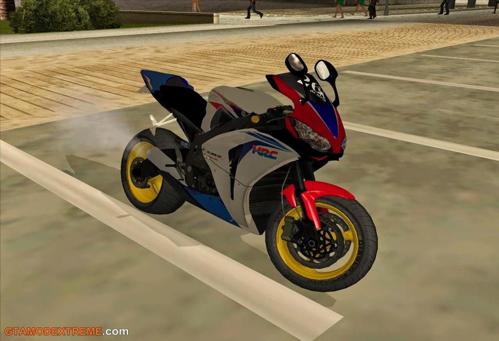Baixar moto Honda CBR1000RR Fireblade HRC 2009 Para GTA San Andreas