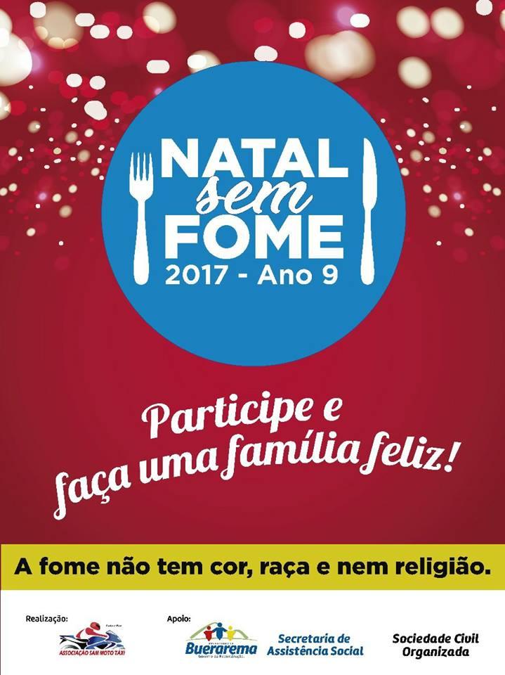 Campanha Natal sem Fome (Buerarema)