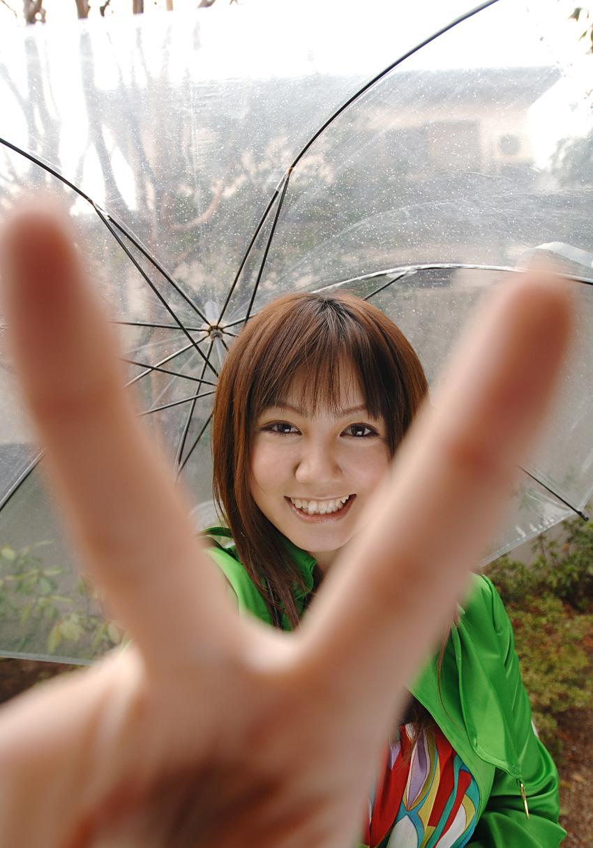 Asian fountain girl