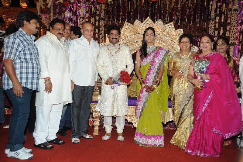 Celebrities  Jr NTR  Pranathi s Marriage function pics