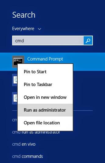 4 Langkah Mudah Membuat Wifi Hotspot dengan Command Prompt di Windows 8