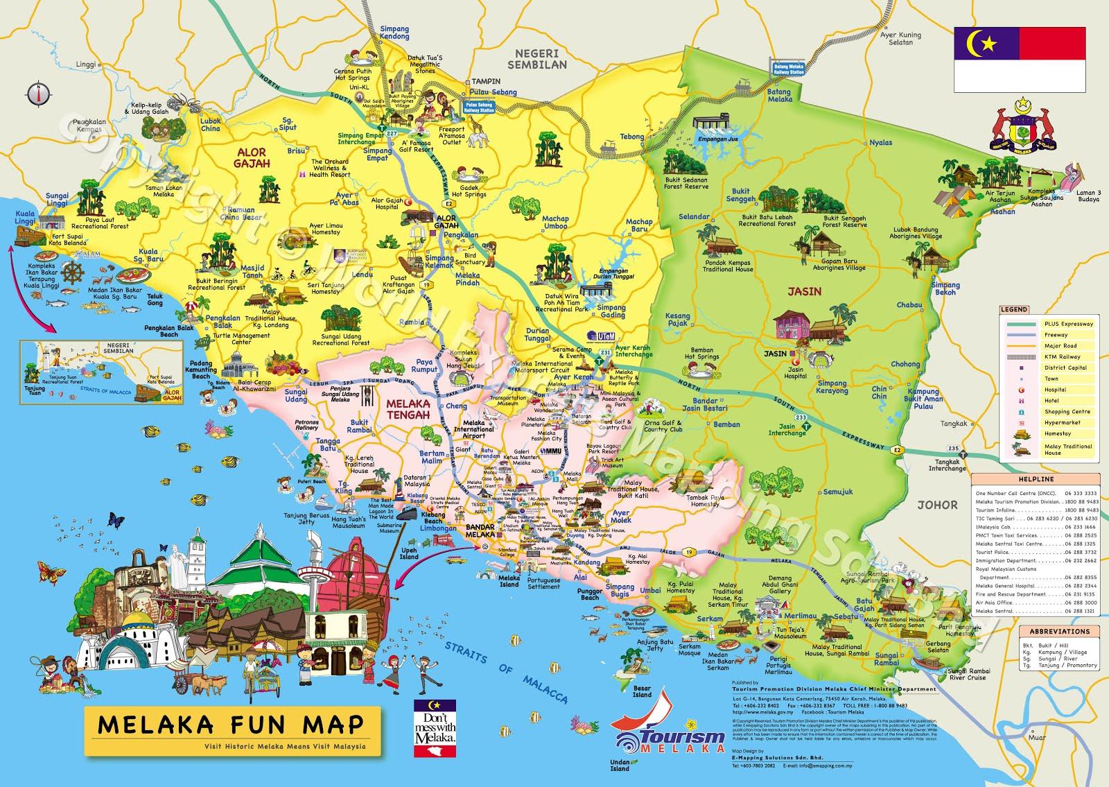 Melaka Map