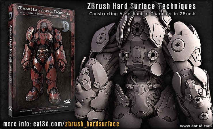 Hot 25 dvd eat3d ultimate tutorials collection for Mirror zbrush