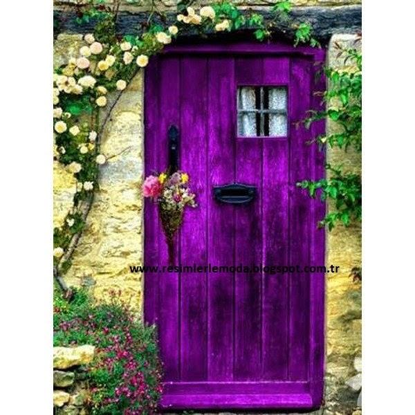 Bahçe kapısı modelleri renk renk bahçe kapıları