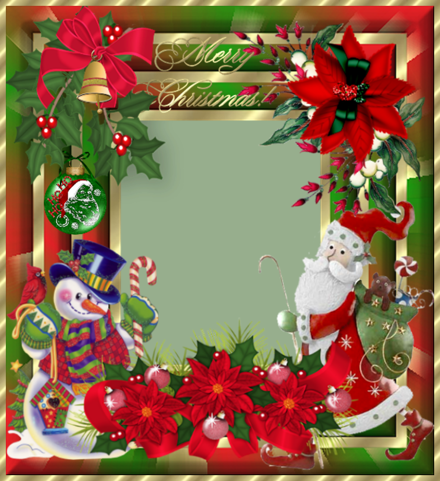 Creative Elegance Designs: Very Merry Frame Done Over