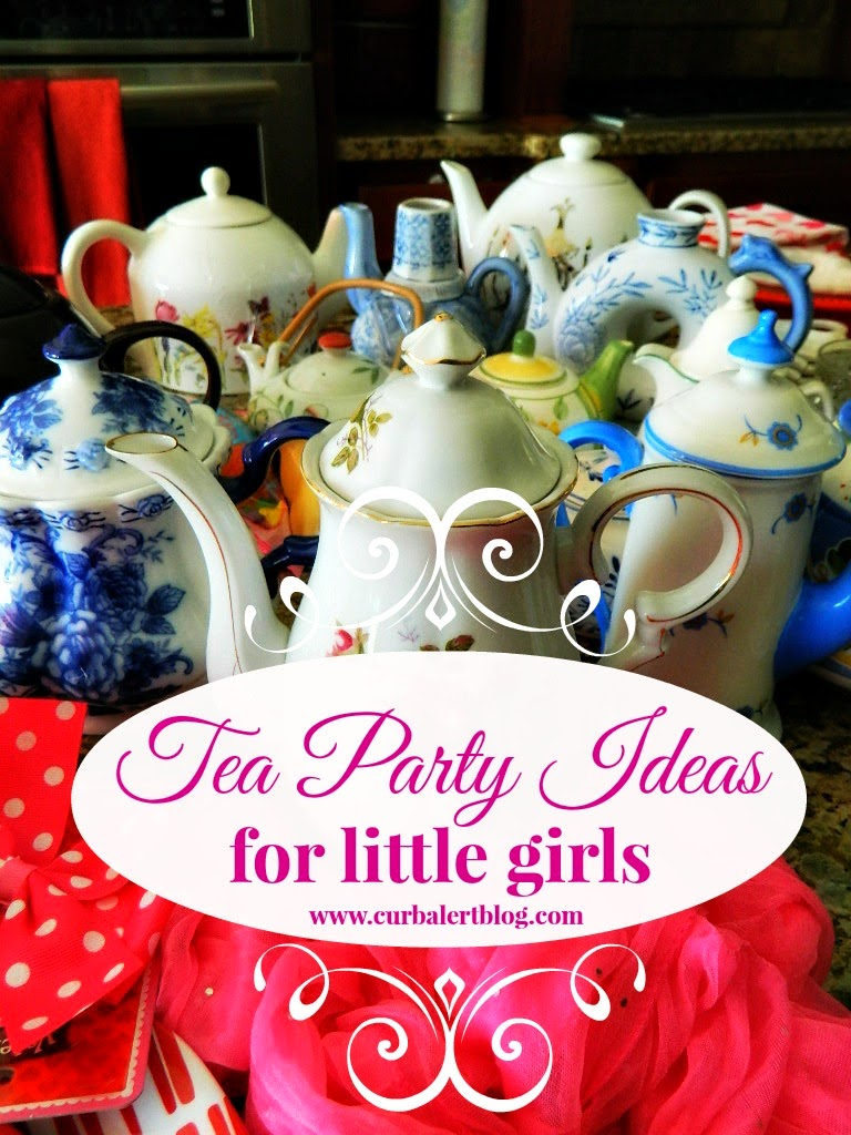 Tea Party Game Ideas for Little Girls via Curb Alert! Blog http://www.curbalertblog.com/2014/03/tea-party-ideas-for-little-girls.html