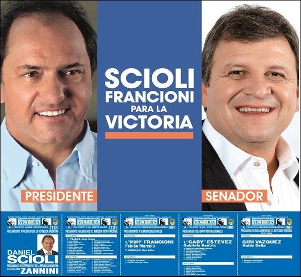 ESPACIO PUBLICITARIO: SCIOLI - FRANCIONI