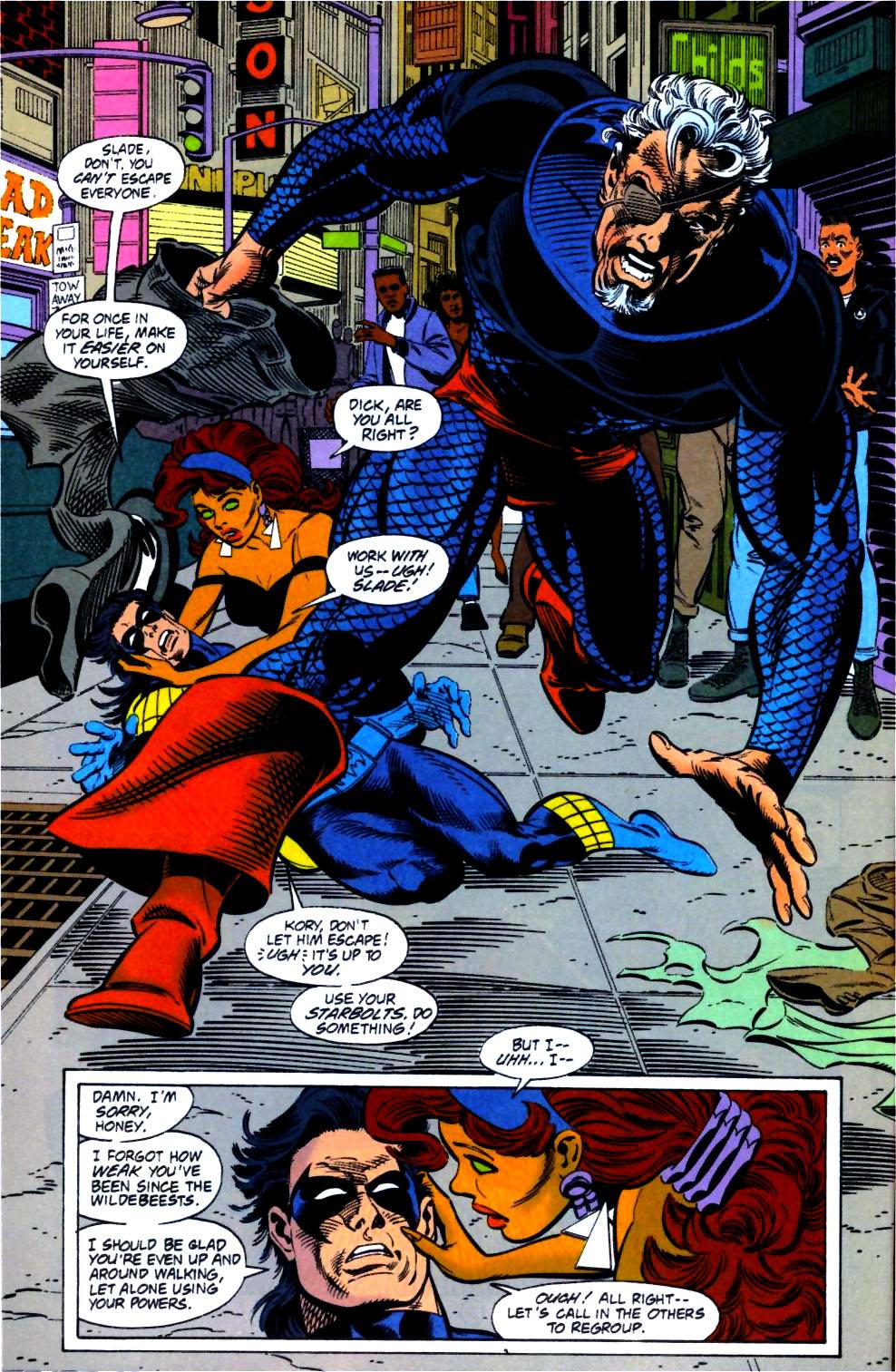 Deathstroke (1991) Issue #14 #19 - English 11
