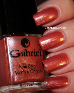Gabriel Spiced Apple nail polish