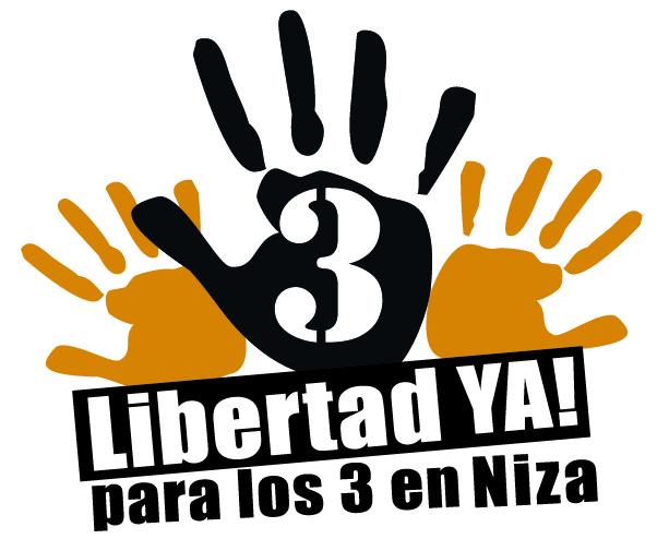 LIBERTAD PARA LOS 3 DE NIZA