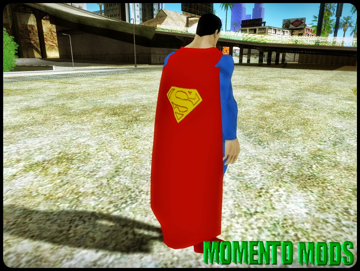 GTA SA - Skin Do Novo Superman