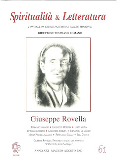 "Recuperi/21 - AA.VV., ""Giuseppe Rovella"", Spiritualità & Letteratura, n. 61"
