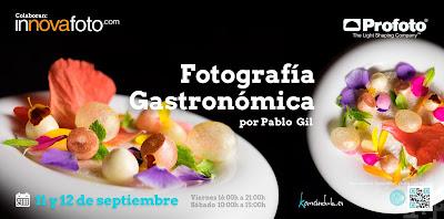 Taller de foto gastronomica Pablo Gil
