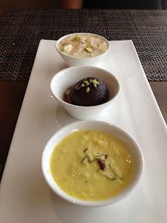 Dessert Sampler at Punjab Grill, Pune