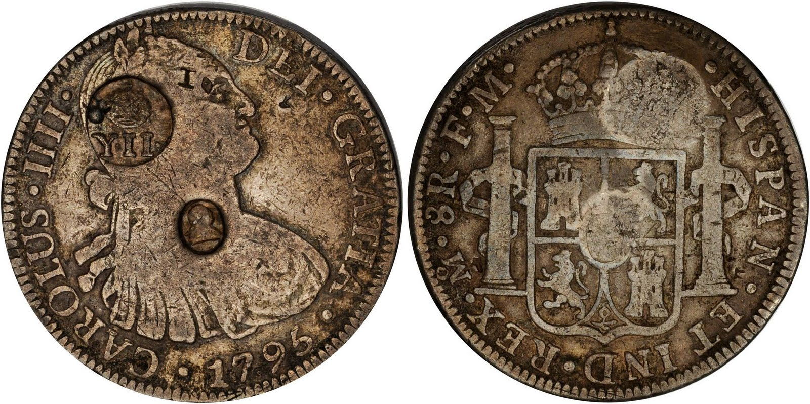 Philippine Coin Information Isabel Ii Counterstamped Coinage