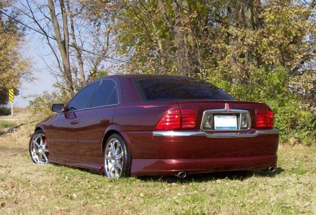 Large on 2002 Lincoln Ls V8 Engine Bay
