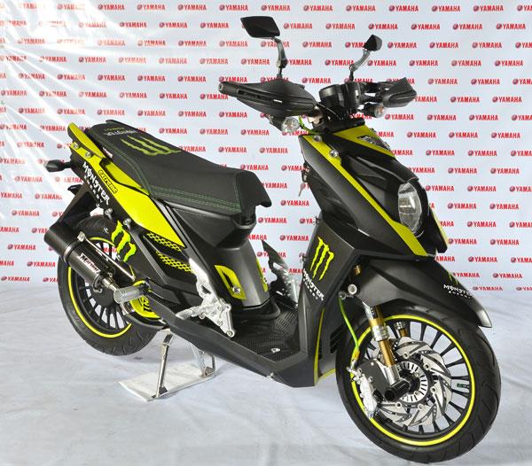 Foto Modifikasi Motor Yamaha X Ride 2015 Terbaru