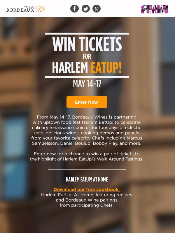 Win Tickets for Harlem Eat Up