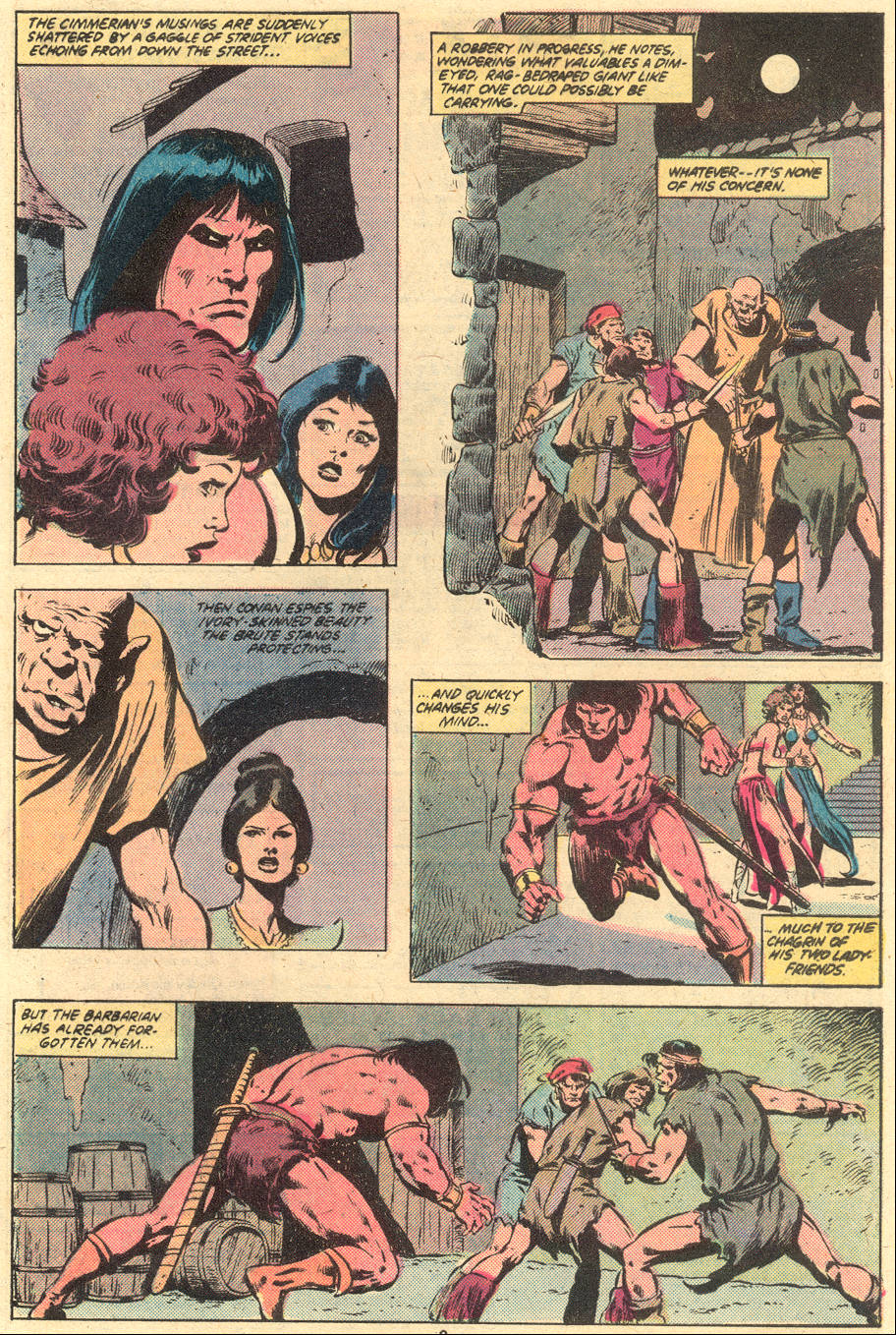 Conan the Barbarian (1970) Issue #121 #133 - English 4