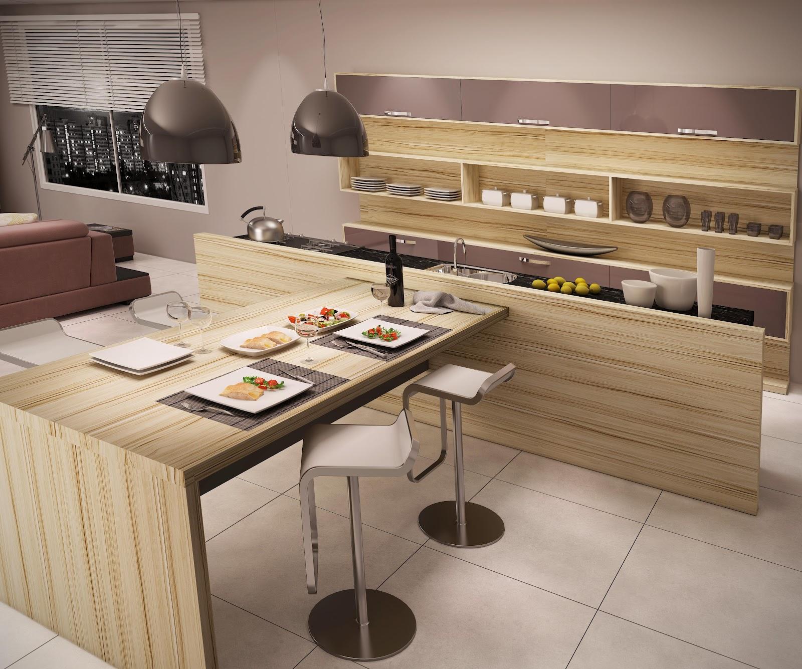 #AD3D1E Os móveis e as tendências UP Design Inteligente 1600x1335 px Cozinha Casa Design_397 Imagens