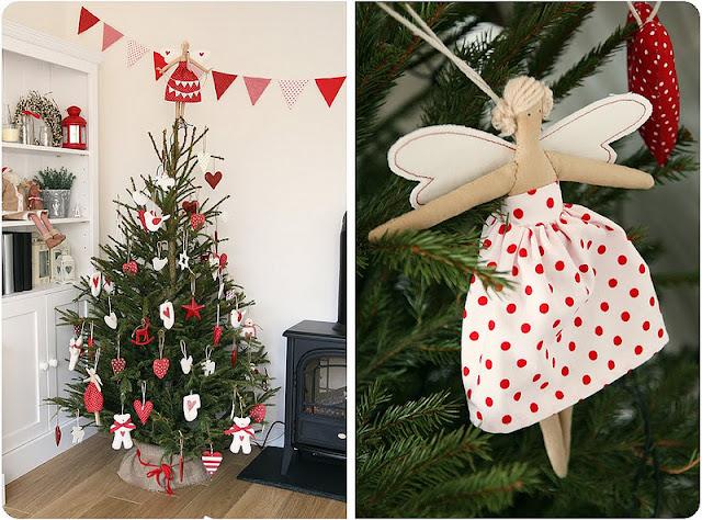 Decoración nórdica Navidad
