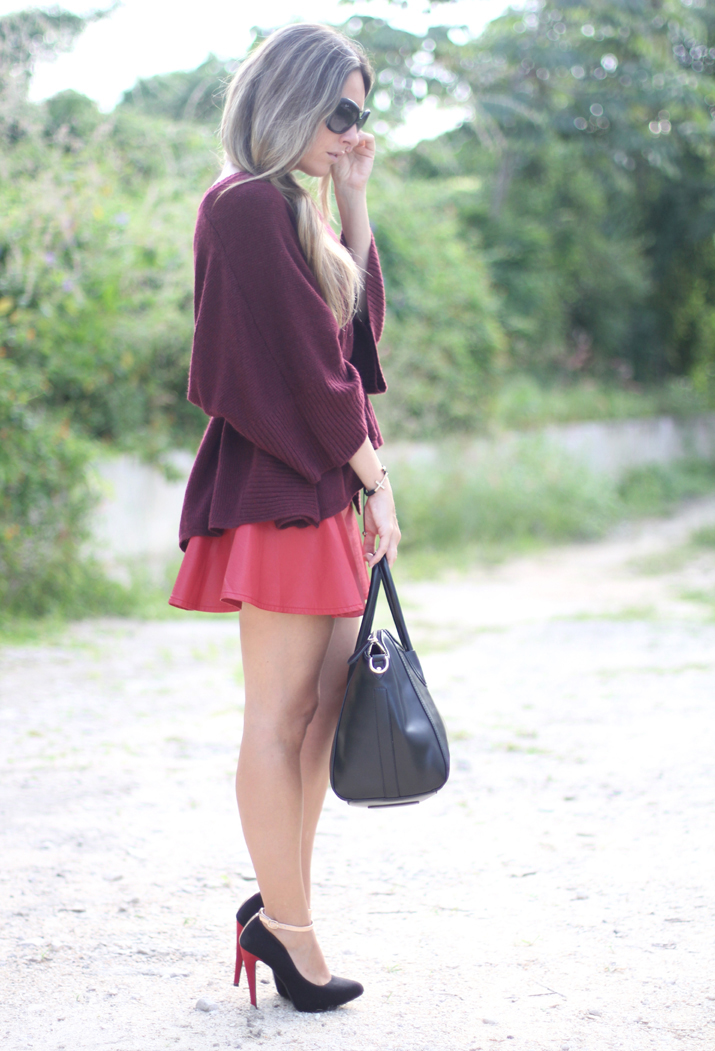 Oxblood trend by fashion blogger Mónica Sors
