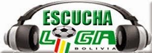 ESCUCHAR FUTBOL BOLIVIANO