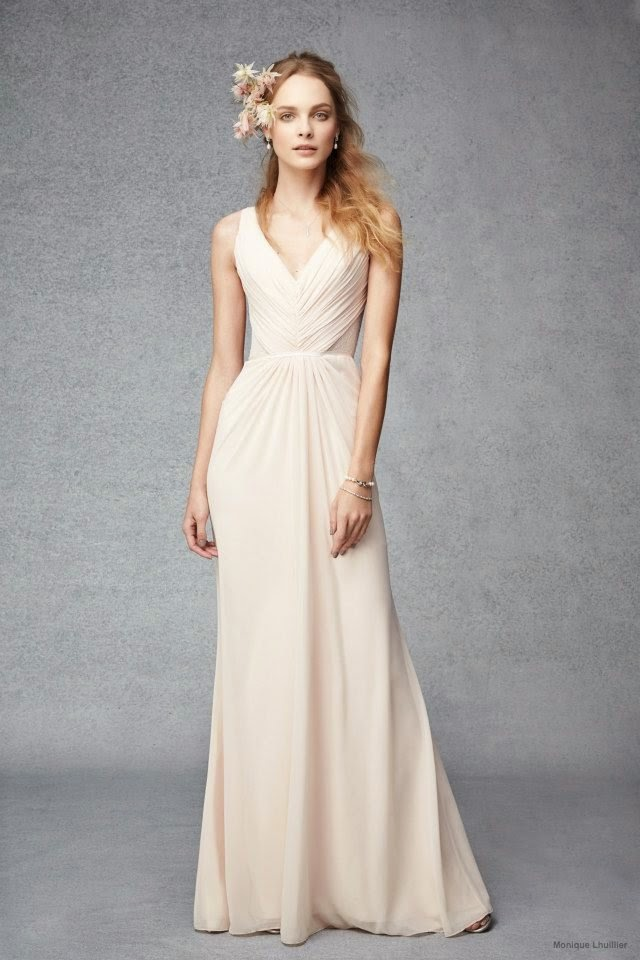 Bridesmaid Evening Dresses Monique Lhuillier 2015