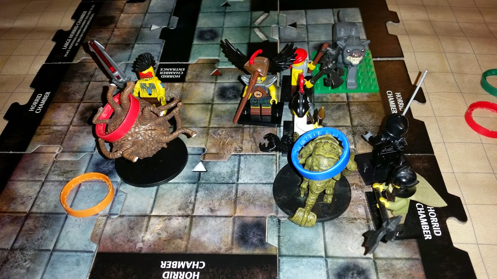 Everyone is LEGO, so of course, the Xoriat aberrations are standard minis!