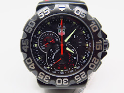 TAG HEUER FORMULA 1 CHRONOGRAPH BLACK DIAL - PVD BLACK CASE