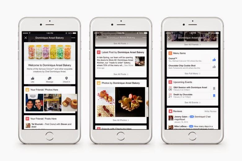 فايسبوك تطلق ميزتها الجديدة Place Tips