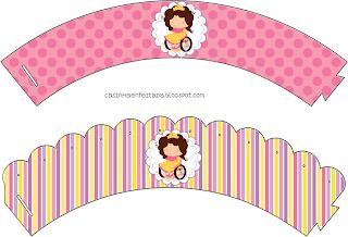 kit festa princesa criança deficiente especial para imprimir grátis