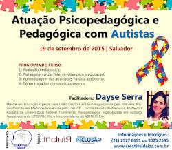 Curso Atuação Psicopedagógica e Pedagógica com Autistas BA