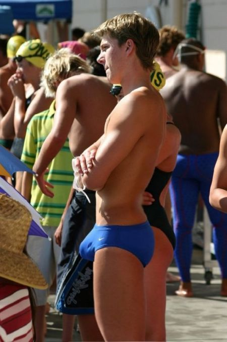 Hot Swimmer's Bulges