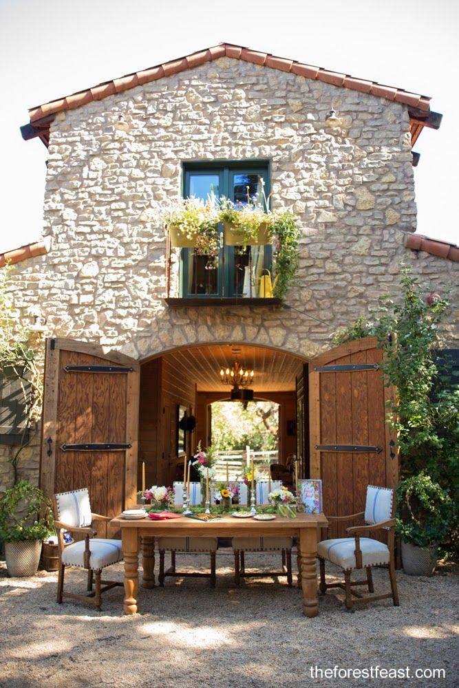 Arquitectura de Casas: Casas bonitas en la campiña de Italia.