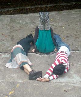 Xochimilco, mex. DF- Aparición clara y detallada de la mismísima a ...