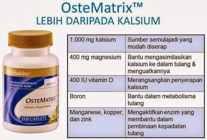 ostematrik vitamin shaklee