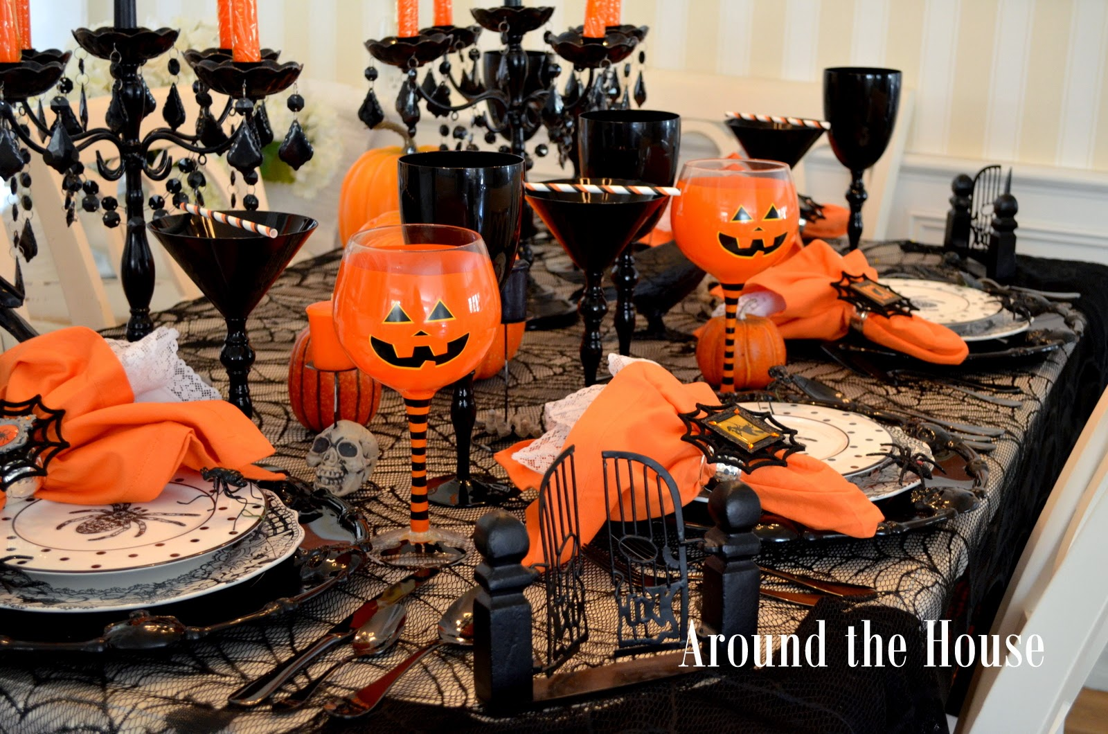 Halloween tablescapes - Scary Halloween Tablescape Boo Boo