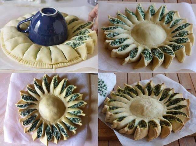 Decorazioni Torte Salate : Un sole in cucina torta salata la casa delle idee
