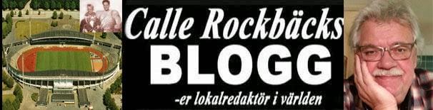 Calle Rockbäcks BLOGG