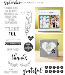 Close to My Heart - September 2017 Stamp of the Month