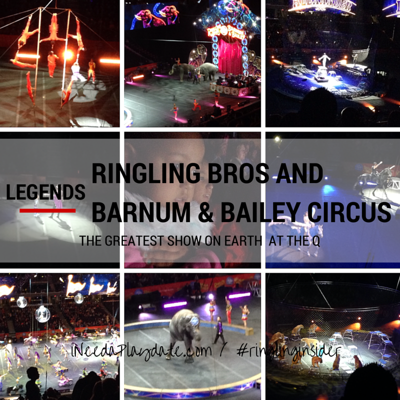 Legendary Performances from Ringling Bros.