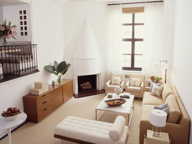 Interiorismo for Living room 2 seating areas