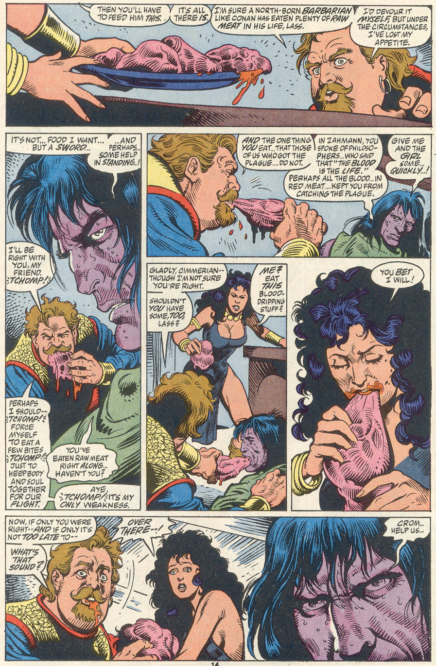 Conan the Barbarian (1970) Issue #256 #268 - English 11