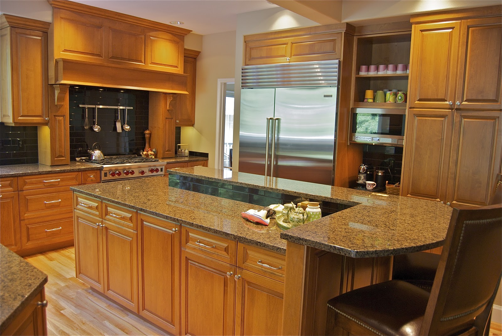 My Two Cents: Kitchen Remodel, Bellevue, WA. (after) DeWils cabinetry